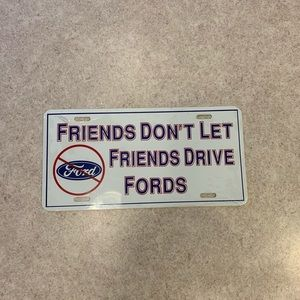 Man cave Funny License plate Decor
